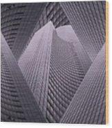 Columbia Tower Seattle Wa 2 Wood Print