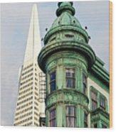 Columbus Avenue - San Francisco, California Wood Print