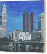 Columbus Ohio Wood Print
