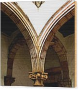 Column And Arch Wood Print