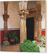 Column And Pilasters Wood Print