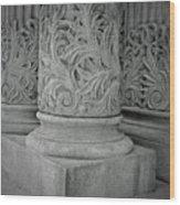 Column Of Mount Vernon Place Wood Print