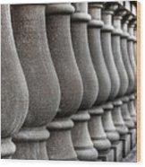 Columns Wood Print
