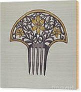 Comb Wood Print
