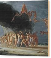 Come Unto These Yellow Sands Wood Print by Richard Dadd