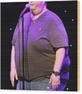 Comedian Ralphie May Wood Print