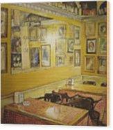 Comedor Interior Wood Print