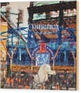 Comerica Tigers Detroit Wood Print