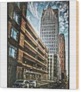 Comerica Tower Wood Print