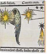 Comet, 1496 Wood Print