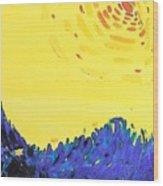 Comet Wood Print