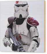 Commander Neyo Wood Print