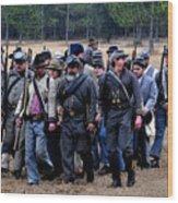 Commanding The Troops Wood Print