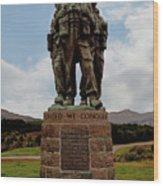 Commando Memorial 2 Wood Print