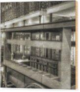 Commerce Museum Wood Print