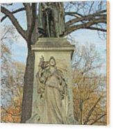 Commodore John Barry Monument Wood Print