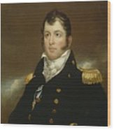 Commodore Oliver Hazard Perry Wood Print