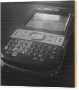 Communication Device Wood Print