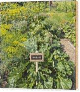 Community Garden Wood Print