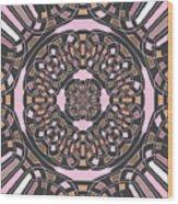 Complex Geometric Abstract Wood Print