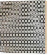 Complex Patteren Wood Print