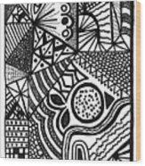 Complex Perception Wood Print