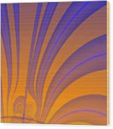 Complimentary Colors Wood Print