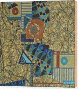 Composition Vi 07 Wood Print