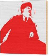 Comrade L Wood Print