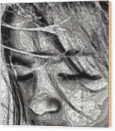 Conceptual Portrait Wood Print
