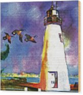 Concord Point Lighthouse Wood Print by Dean Gleisberg