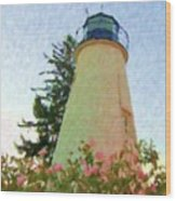 Concord Point Lighthouse Wood Print