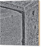 Concrete Corner 2787 Wood Print