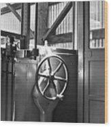 Conductor Wood Print