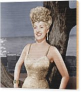 Coney Island, Betty Grable, 1943 Wood Print
