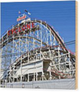 Coney Island Memories 2 Wood Print