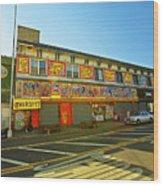 Coney Island Memories 4 Wood Print