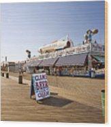 Coney Island Memories 7 Wood Print