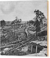 Confederate Fort Wood Print