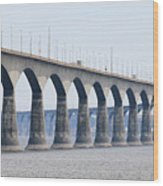 Confederation Bridge 5511 Wood Print