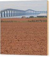 Confederation Bridge 5531 Wood Print