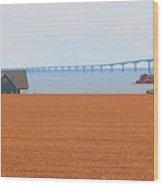 Confederation Bridge 5534 Wood Print