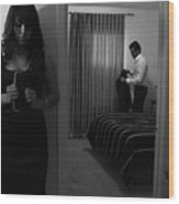 Confesiones Wood Print