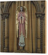 Confessional - Our Lady Of Lourdes Cathedral - Spokane Wood Print