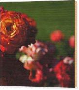 Confetti Roses Wood Print