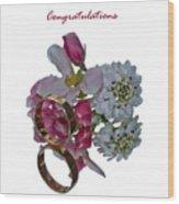 Congratulation Cards Wood Print