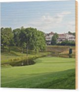 Congressional Blue Course - The Finish - Par 4 18th Wood Print
