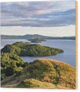 Conic Hill Balmaha Uk Wood Print