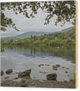 Coniston Water Wood Print