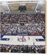 Connecticut Huskies Harry A. Gampel Pavilion Wood Print